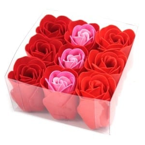 Luxury Bath Roses – Red Rose (Gift Wrapped 9)