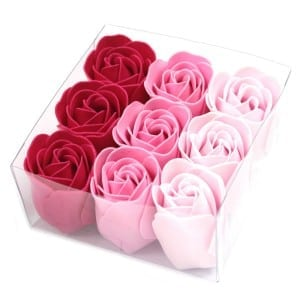 Luxury Bath Roses – Pink Rose (Gift Wrapped 9)